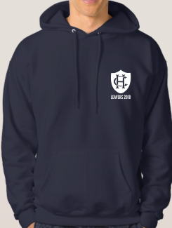 Leavers Hoodies - Front Option - Printed One Colour Badge