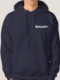 Ski Trip Hoodies - Addtional Extra - Name or nickname on the front