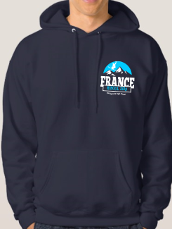 Ski Trip Hoodies - Front Option - Ski Embroidery Logo