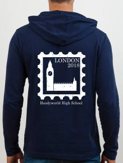 School Trip Hoodies - school trip Designs - School Trip Stamp Concept Ten