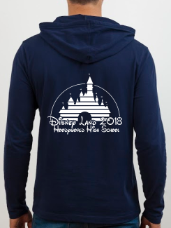 School Trip Hoodies - school trip Designs - Disney Castle Concept Nine