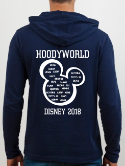 School Trip Hoodies - school trip Designs - Filled Mickey Disney Concept Eight