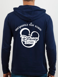 School Trip Hoodies - school trip Designs - Mickey Disney Concept Seven