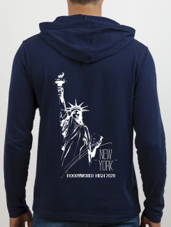 School Trip Hoodies - school trip Designs - New York Statue of Liberty