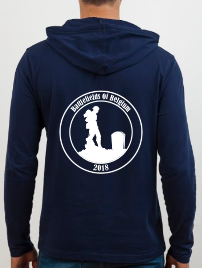 School Trip Hoodies - school trip Designs - Battlefields Theme