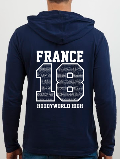 School Trip Hoodies - school trip Designs - Number Design Concept Three