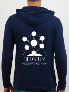 School Trip Hoodies - school trip Designs - Belgium Landmark Design 2