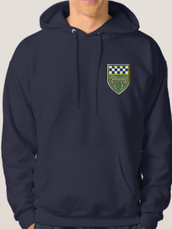 School Trip Hoodies - Front Option - Embroidery Badge