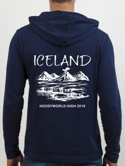 School Trip Hoodies - school trip Designs - Iceland Landscape Design