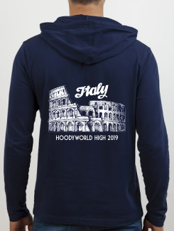 School Trip Hoodies - school trip Designs - Italy Landmark Design