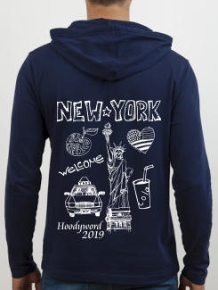 School Trip Hoodies - school trip Designs - New York Sketch Design
