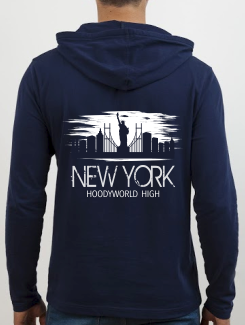 School Trip Hoodies - school trip Designs - New York Skyline