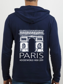 School Trip Hoodies - school trip Designs - Paris Landmark Design