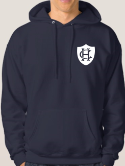 School Trip Hoodies - Front Option - Small Printed One colour badge / Logo