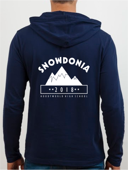 School Trip Hoodies - school trip Designs - Mountains Theme Two