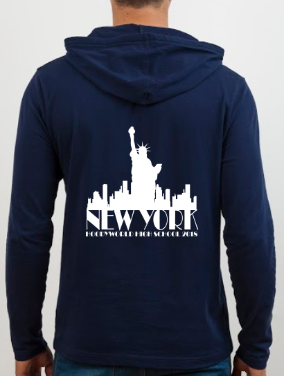 School Trip Hoodies - school trip Designs - Skyline Concept Six
