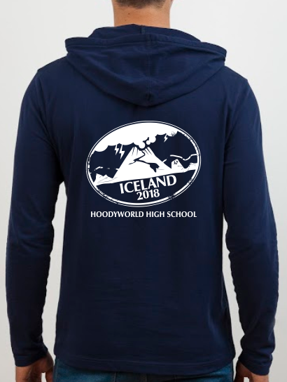 School Trip Hoodies - school trip Designs - Volcanos Theme One