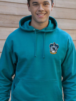 University and society hoodies - Front Option - Embroidery Badge