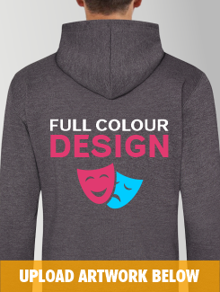 Theatre and Performing Arts - rear print - Full Colour Design or Logo