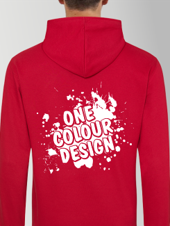 General Enquiry - Rear Personalisation - One Colour Logo / Design.