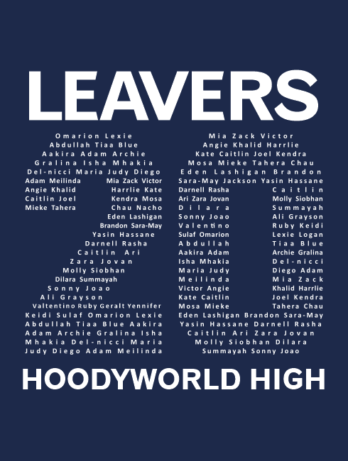 Leavers Hoodies - Leavers Page - Leavers Popular Design 2