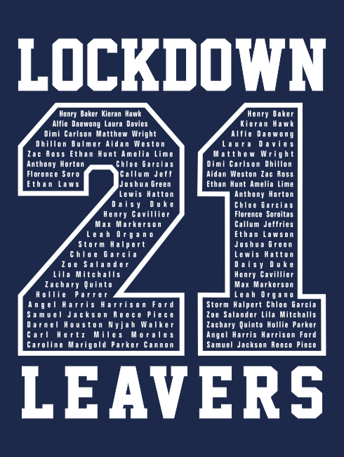 Leavers Hoodies - Leavers Page - Lockdown leavers One