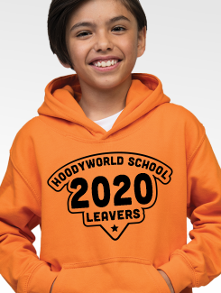 Primary School Leavers Hoodies - Front Option - Primary Large Print One