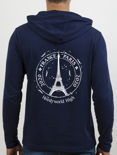 School Trip Hoodies - school trip Designs - Paris Circle Design
