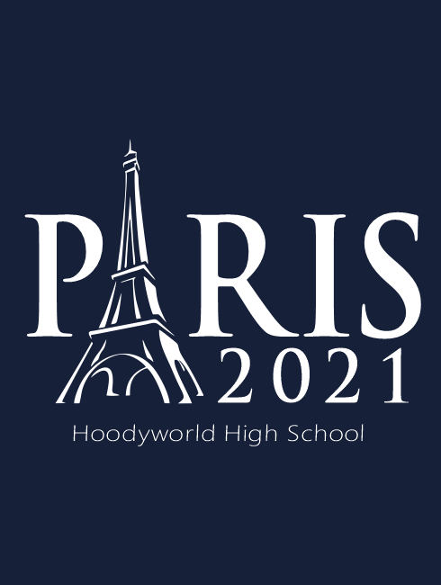 School Trip Hoodies - school trip Designs - France Landmark Design