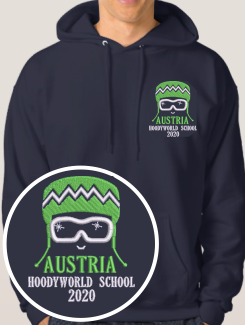 Ski Trip Hoodies - Embroidery - Hoodyworld Embroidery Logo 6
