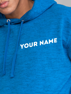 Ski Trip Hoodies - Individual Personalisation - Name or nickname on the front