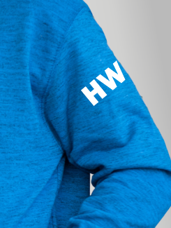 Ski Trip Hoodies - Sleeve Personalisation - Printed Initials on the sleeve