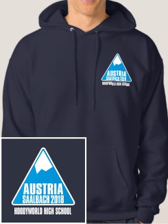 Ski Trip Hoodies - Embroidery - Hoodyworld Embroidery Logo 1