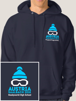 Ski Trip Hoodies - Embroidery - Hoodyworld Embroidery Logo 2
