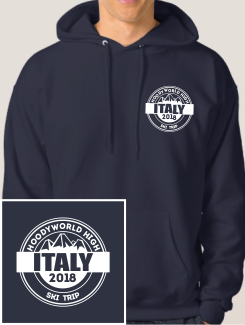 Ski Trip Hoodies - Embroidery - Hoodyworld Embroidery Logo 3