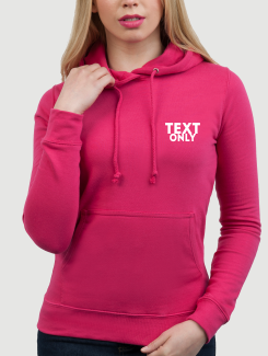 Dance Hoodies and Clothing - Front Option - One Colour Text. The same on all garments