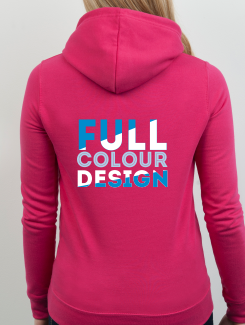 Dance Hoodies and Clothing - rear print - Full Colour Design/Logo