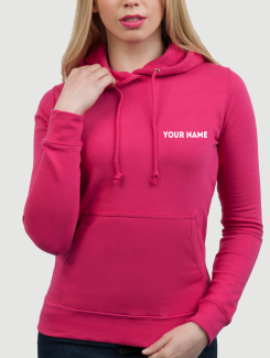 Dance Hoodies and Clothing - Addtional Extra - Printed Name or Nickname Front