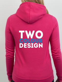 Dance Hoodies and Clothing - rear print - 2 Colour Design/Logo