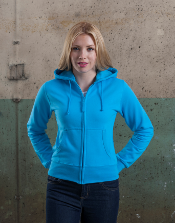 Girlie Zipped Hoody