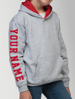 Primary School Leavers Hoodies - Sleeve Personalisation - Printed Name or Nickname On Sleeve