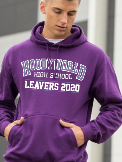 Leavers Hoodies - Front Option - Leavers Large Print 2