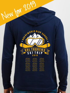 Ski Trip Hoodies - Ski Designs - New Premium Ski 2