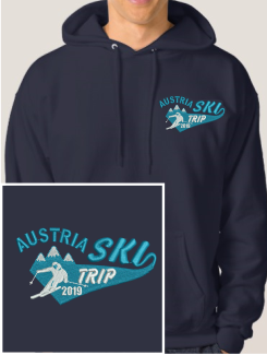 Ski Trip Hoodies - Embroidery - Hoodyworld Embroidery Logo 7