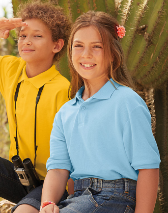 Fruit of The Loom Kids Polo