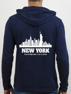 School Trip Hoodies - school trip Designs - New York Skyline Design