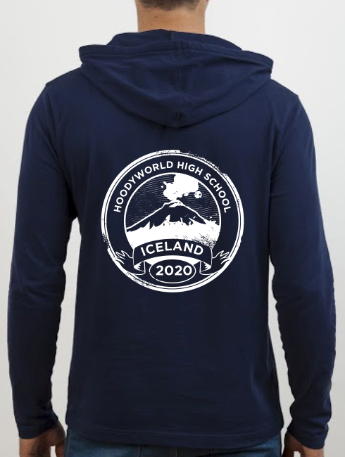 School Trip Hoodies - school trip Designs - Iceland Circle Design