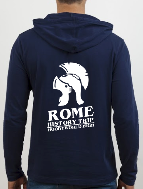 School Trip Hoodies - school trip Designs - Italy History Design