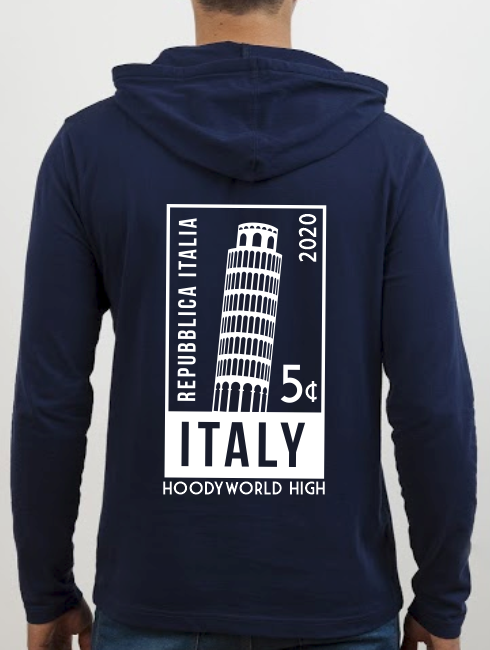 School Trip Hoodies - school trip Designs - Italy Stamp Design