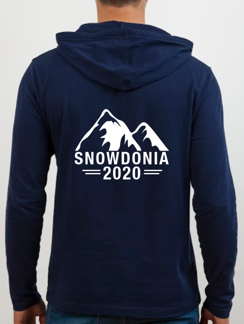 School Trip Hoodies - school trip Designs - Mountains Theme One